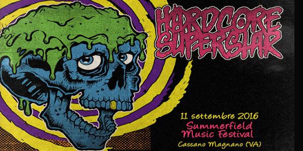 Hardcore Superstar: un concerto al Summerfield Music Festival in settembre – biglietti