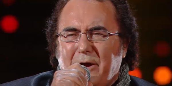 Al Bano ospite a I Migliori Anni canta Nostalgia Canaglia e Felicità (video)