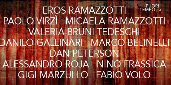 Eros Ramazzotti a Che Fuori Tempo Che Fa: anticipazioni e ospiti puntata 7 maggio 2016