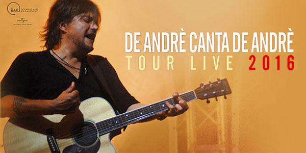 Cristiano De André in concerto a Merano il 4 agosto 2016
