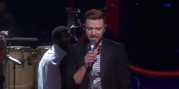 Eurovision 2016: Justin Timberlake canta Can't Stop The Feeling! nella finale (video)
