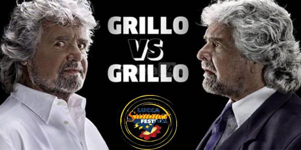 Beppe Grillo sarà al Lucca Summer Festival con lo show Grillo vs Grillo – biglietti