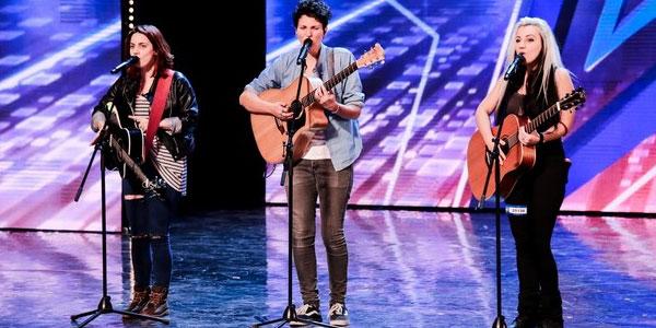 Italia's got Talent: le Erin Mellon Trio conquistano la giuria