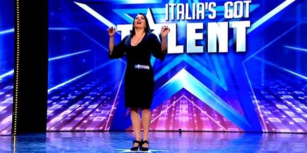 italia's got talent gabriella orgasmo lirico