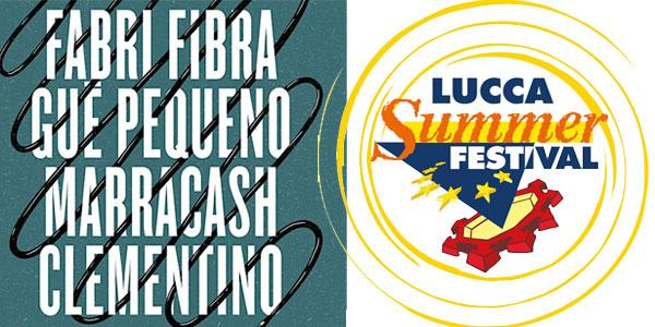 Fabri Fibra, Gue' Pequeno, Marracash e Clementino al Lucca Summer Festival – biglietti