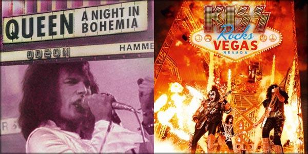 Queen e Kiss al cinema: arrivano sul grande schermo i concerti leggendari