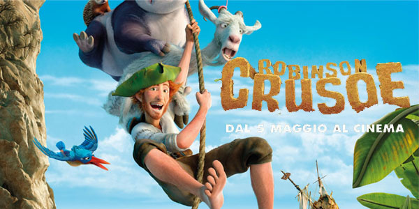 robinson crusoe film al cinema