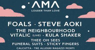 AMA MUSIC FESTIVAL 2016 concerti
