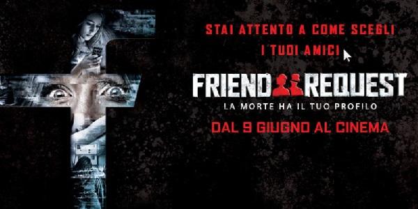 Friend Request – La morte ha il tuo profilo: film horror sui social oggi al cinema