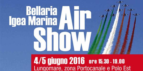 Bellaria Igea Marina: spettacolo delle Frecce Tricolori il 4 e 5 giugno 2016