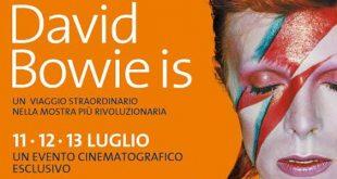 Omaggio a David Bowie eventi cinema arte