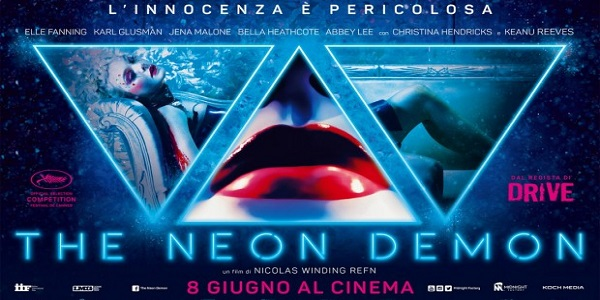 The Neon Demon film horror oggi al cinema