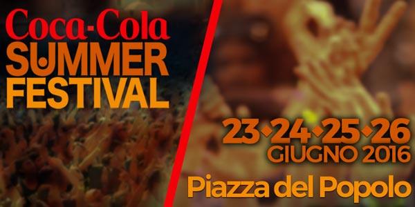 Coca Cola Summer Festival: scaletta e ospiti seconda serata 24 giugno 2016