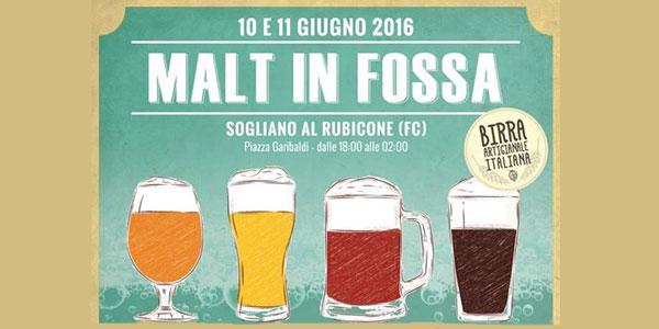 Malt In Fossa 2016: Il festival della Birra a Sogliano al Rubicone 10-11 giugno