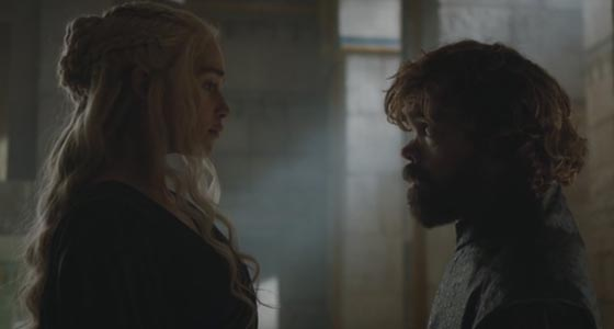 game of thrones 6 finale daenerys e tyrion