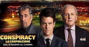la cospirazione oggi cinema con Anthony Hopkins e Al Pacino