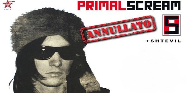 Primal Scream: concerti annullati e modalità rimborso biglietti
