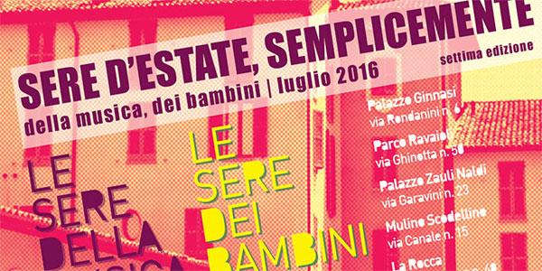 Castel Bolognese: dal 5 luglio parte la rassegna Sere D'Estate – programma