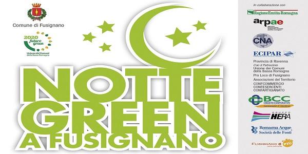 Fusignano Notte Green locandina