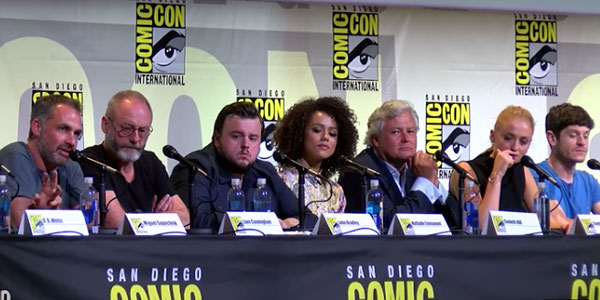 Game of Thrones Comic Con di San Diego