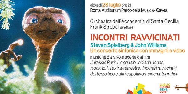 Incontri Ravvicinati Concerto Steven Spielberg John Williams