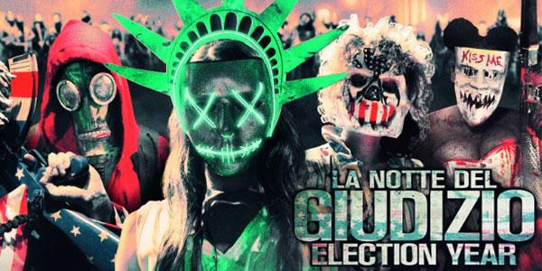 La notte del giudizio - Election Year film al cinema