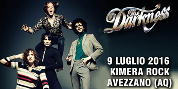 The Darkness Kimera Rock 2016