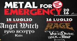 festival Metal For Emergency