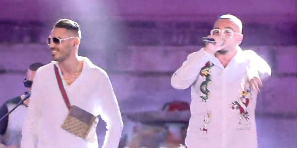 Gué Pequeno e Marracash: video in Insta lova al Coca Cola Summer Festival