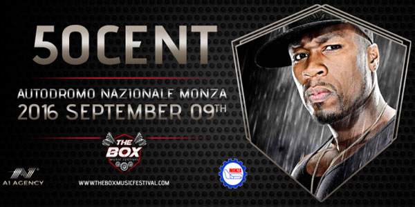 50 cent The Box Music Festival autodromo monza