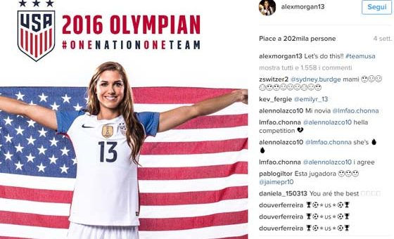 Alex Morgan – Calcio