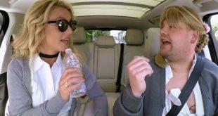 Britney Spears Carpool Karaoke video