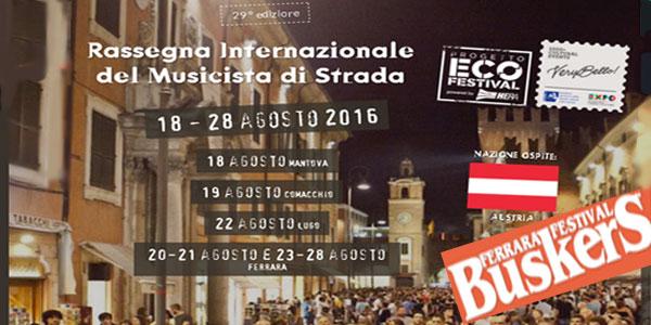A Lugo la tappa del Ferrara Buskers Festival è un successo