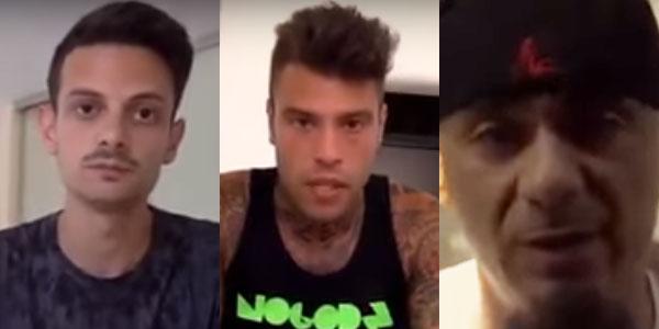 J-Ax, Fedez e Fabio Rovazzi: una raccolta fondi per Amatrice – video