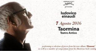 Ludovico Einaudi concerto a Taormina