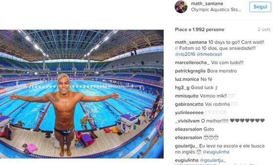 Matheus Santana – Nuoto