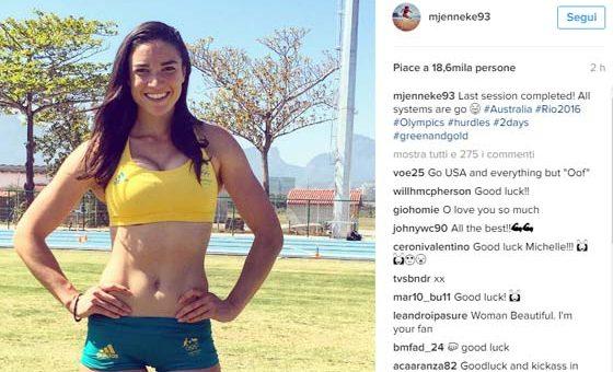 Michelle Jenneke – Atletica