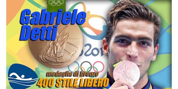Olimpiadi Rio 2016 Gabriele Detti