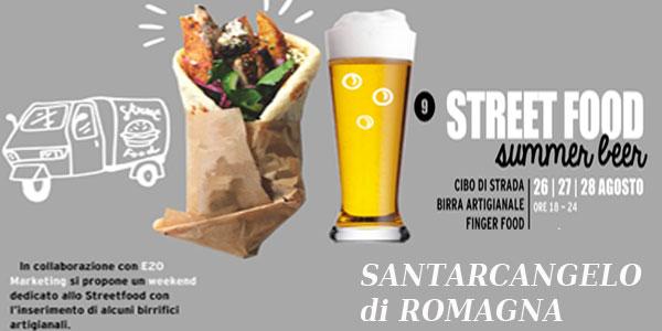 SANTARCANGELO ROMAGNA Street Food Summer Beer