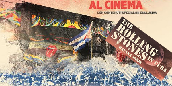 The Rolling Stones – Havana Moon in Cuba al cinema per una sola notte