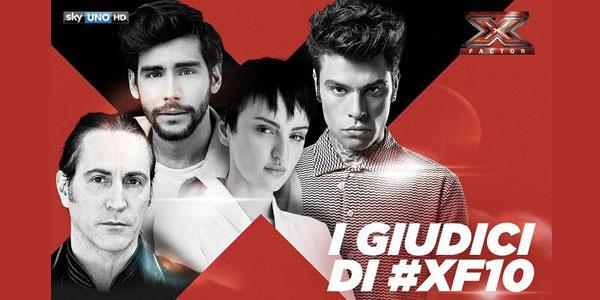 X Factor 10 chi sono i nuovi giudici 2016