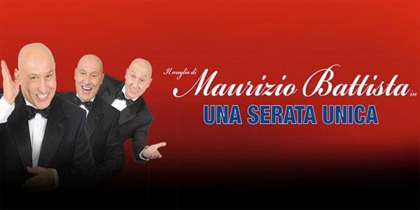 Maurizio Battista all'Arena della Regina di Cattolica stasera 18 agosto 2016