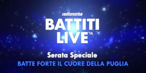 Battiti Live 2016: stasera 17 agosto a Bisceglie, dove vedere la diretta tv e streaming