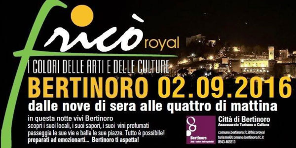 bertinoro romagna frico royal 2016 eventi romagna