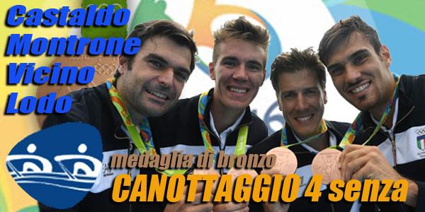 olimpiadi rio 2016 canottaggio bronzo