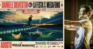 daniele silvestri Acrobati Summer Tour La Festa Del Megafono
