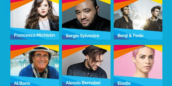 Festival Show 2016: stasera 18 agosto a Lignano con Benji e Fede, Al Bano e tanti altri