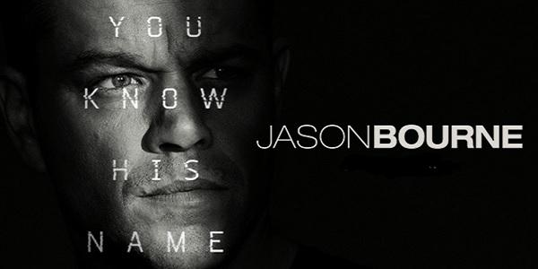 Jason Bourne: al cinema il nuovo film della saga con Matt Damon – trama e recensione
