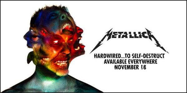 Metallica: rivelati titolo, data d'uscita e primo singolo del nuovo album – tracklist