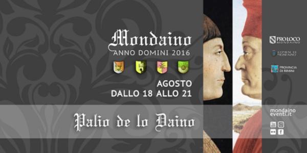 Mondaino, Rimini: il Palio del Daino dal 18 al 21 agosto 2016 – programma
